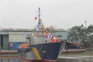 Hạ thủy tàu cao tốc HQ-120 của Hải quan