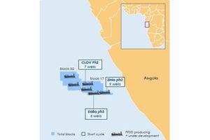 Tổ hợp khoan dầu với hệ thống dẫn khí dài nhất thế giới nằm ở độ sâu 2.000 dưới mặt biển