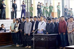 Những hình ảnh đầu tiên vụ xét xử sơ thẩm vụ án đánh bạc nghìn tỷ tại Phú Thọ