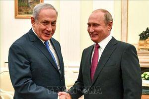 Lần đầu tiên sau vụ bắn rơi máy bay ở Syria, Thủ tướng Israel và Tổng thống Nga gặp gỡ