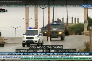 Quân cảnh Nga trực tiếp giám sát Hồi giáo cực đoan tại Idlib
