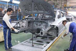 Giá trị nhập khẩu phụ tùng ô tô cao gấp 3 lần ô tô nguyên chiếc