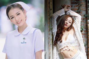 Hình ảnh mới nhất cực kỳ nóng bỏng của 'nữ y tá xinh đẹp nhất Thái Lan' sau khi bị sa thải