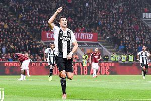 Tội đồ Higuain làm nền cho Ronaldo, AC Milan 'sấp mặt' trước Juventus