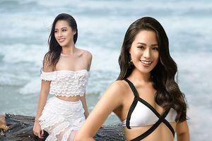 Cô gái 18 tuổi mặc áo tắm đẹp nhất Việt Nam không hề ganh tỵ với Hoa hậu Trần Tiểu Vy