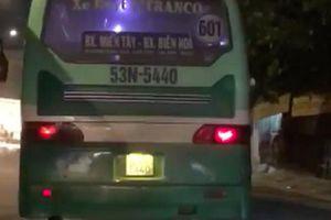 Ngưng công việc tài xế xe buýt leo vỉa hè phóng bạt mạng gây bức xúc ở Sài Gòn