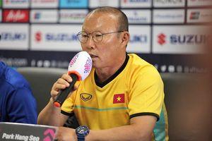 HLV Park Hang Seo nói gì về trận quyết đấu với Malaysia?
