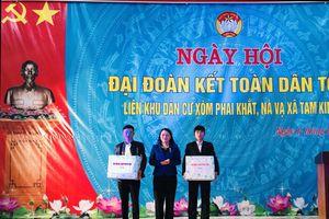 Chủ tịch Hội LHPNVN dự Ngày hội Đại đoàn kết toàn dân tộc tại Cao Bằng