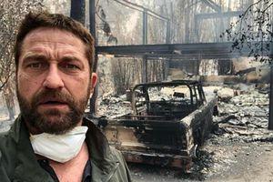 Đám cháy khủng khiếp thiêu rụi nhà cửa của Gerard Butler, Lady Gaga, Kim Kardashian, Miley Cyrus