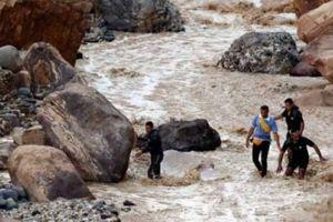 11 người thiệt mạng do mưa lớn ở Jordan