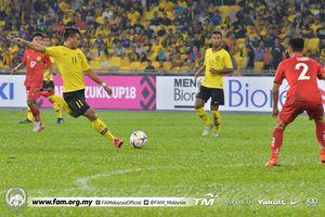 Thắng Lào 3-1, Malaysia tự tin quyết chiến với ĐT Việt Nam
