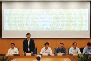Hà Nội đề xuất nhiều nội dung về quản lý tài nguyên và bảo vệ môi trường