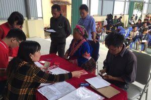 Người dân Lai Châu cảm kích khi nhận tiền khắc phục hậu quả thiên tai