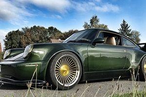 Porsche 911 Turbo 1993 độ 'độc', đẹp đến bất ngờ