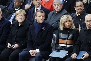 Ông Trump dùng 'bữa trưa vui vẻ' với lãnh đạo Nga, Pháp và Đức