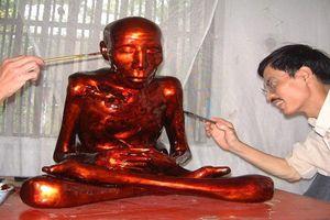 Bí ẩn hai vị sư ngồi thiền trong tháp mộ, cơ thể bất hoại ở Thường Tín