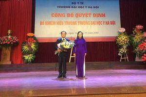 Đại học Y Hà Nội có hiệu trưởng mới