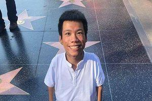 Sự thật việc họa sỹ khuyết tật Lê Minh Châu được vinh danh trên Đại lộ Danh Vọng