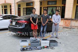Bắt khẩn cấp 3 nghi phạm đột nhập công ty, trói bảo vệ, cướp tài sản ở Hải Dương