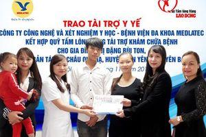 Niềm vui đến với đôi vợ chồng người Dao mang gen Thalassamie