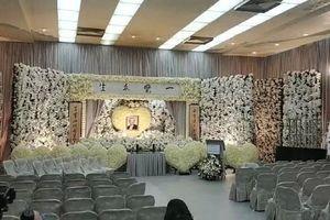 Hình ảnh tang lễ của 'võ lâm minh chủ' - nhà văn Kim Dung
