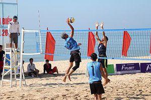Quyết liệt ở Giải đấu Bóng chuyền tại Đại hội Thể thao toàn quốc lần thứ VIII