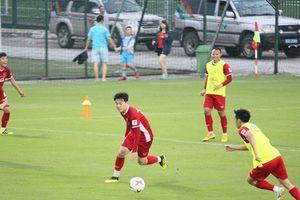 Thủ môn Bùi Tiến Dũng: 'Phong độ của Xuân Trường đang tốt nhất trong đội tuyển'