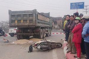 CAH Thanh Trì đang điều tra vụ tai nạn giao thông