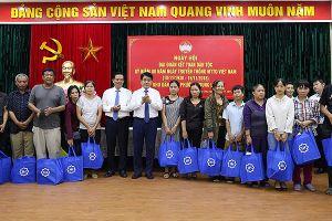Chủ tịch UBND TP Hà Nội chung vui Ngày hội Đại đoàn kết toàn dân tộc ở khu dân cư