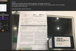 Hacker lại công bố hình ảnh 'chôm' từ FPT Shop