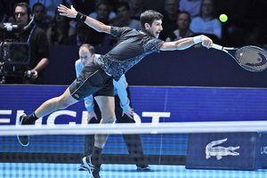 Ronaldo phấn khích chứng kiến Djokovic đả bại John Isner