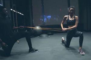 Bài thể dục cho thân hình nóng bỏng của siêu mẫu Victoria's Secret