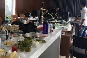 Nhóm thanh niên thuê căn hộ mở tiệc ma túy