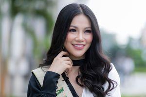 Nhan sắc rạng rỡ của Hoa hậu Trái đất Phương Khánh