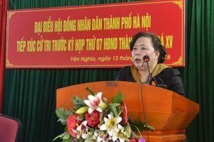 Chủ tịch HĐND TP Nguyễn Thị Bích Ngọc: Đảm bảo môi trường sống phải bắt đầu từ khu dân cư