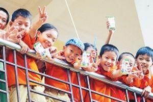 Triển khai chương trình Sữa học đường