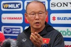HLV Park xem trận gặp Malaysia như 'trận chung kết'