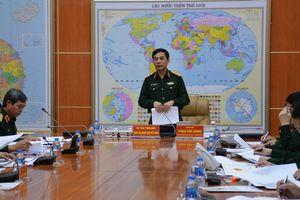 Hội nghị quán triệt, triển khai tổng kết 20 năm thi hành Pháp lệnh Bộ đội Biên phòng