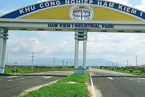 Chủ đầu tư dự án Khu công nghiệp Hàm Kiệm 1 sai phạm trong việc cho thuê đất