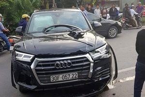 Công an nói gì về thông tin tài xế Audi Q5 say rượu gây tai nạn?