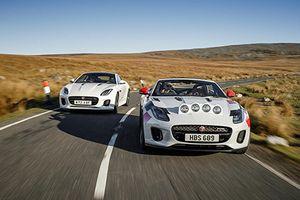 Jaguar giới thiệu xe F-TYPE mui trần việt dã mới