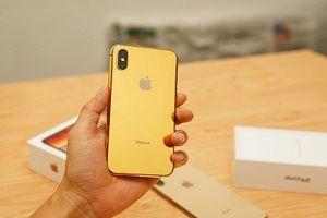 Cận cảnh iPhone XS mạ vàng hơn 50 triệu đồng tại Việt Nam