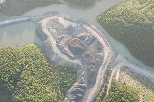 Vụ khai thác than trái phép núp bóng xây nghĩa trang: Hàng trăm nghìn tấn than đã bị 'bốc hơi'?