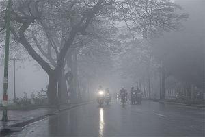 Thời tiết hôm nay 13/11/2018: Hà Nội tiếp tục mưa vào sáng sớm, trời lạnh về đêm