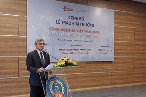 Lần đầu tiên trao Giải thưởng Công nghệ số Việt Nam