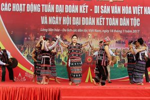 'Tuần đại đoàn kết- Di sản Văn hóa Việt Nam'