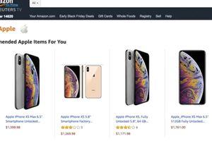 Đã có thể mua iPhone chính hãng trên Amazon