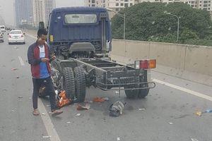 Nhiều vụ xe máy đi vào đường cấm bị tai nạn