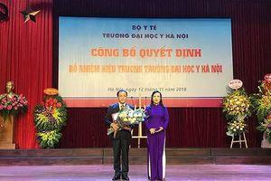 Công bố quyết định bổ nhiệm Hiệu trưởng Trường Đại học Y Hà Nội