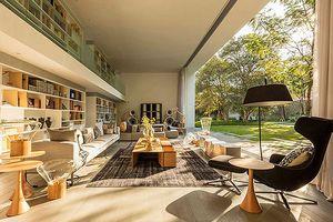 Mê mẩn ngôi nhà có thiết kế như một thư viện thu nhỏ